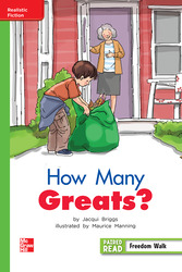 Reading Wonders, Grade 2, Leveled Reader How Many Greats?, Beyond, Unit 5, 6-Pack
