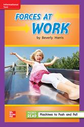 Reading Wonders, Grade 2, Leveled Reader Forces At Work, ELL, Unit 3, 6-Pack