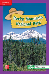 Reading Wonders, Grade 2, Leveled Reader Rocky Mountain National Park, ELL, Unit 4, 6-Pack