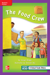 Reading Wonders, Grade 2, Leveled Reader The Food Crew, ELL, Unit 5, 6-Pack