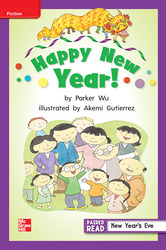 Reading Wonders, Grade 2, Leveled Reader Happy New Year!, ELL, Unit 1, 6-Pack