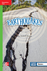 Reading Wonders, Grade 2, Leveled Reader Earthquakes, ELL, Unit 4, 6-Pack