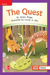 Reading Wonders, Grade 2, Leveled Reader The Quest, On Level, Unit 1, 6-Pack