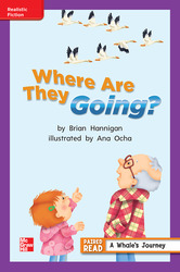 Reading Wonders, Grade 2, Leveled Reader Where Are They Going?, On Level, Unit 2, 6-Pack