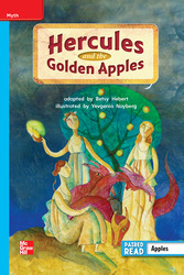 Reading Wonders, Grade 2, Leveled Reader Hercules and the Golden Apples, On Level, Unit 6, 6-Pack