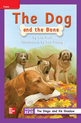 Reading Wonders, Grade 2, Leveled Reader The Dog and the Bone, On Level, Unit 2, 6-Pack