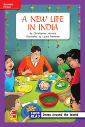 Reading Wonders, Grade 2, Leveled Reader A New Life in India, On Level, Unit 4, 6-Pack