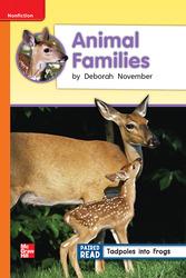 Reading Wonders, Grade 2, Leveled Reader Animal Families, On Level, Unit 2, 6-Pack