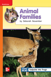 Reading Wonders, Grade 2, Leveled Reader Animal Families, On Level, Unit 2, 6-Pack