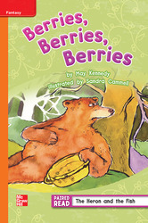 Reading Wonders, Grade 3, Leveled Reader Berries, Berries, Berries, Approaching, Unit 1, 6-Pack