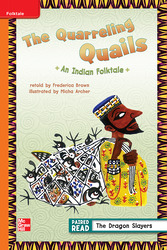 Reading Wonders, Grade 3, Leveled Reader The Quarrelling Quails: An Indian Folktale, Approaching, Unit 2, 6-Pack