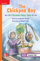 Reading Wonders, Grade 3, Leveled Reader The Chickpea Boy: A Persian Fairy Tale, Approaching, Unit 5, 6-Pack
