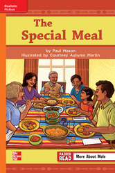 Reading Wonders, Grade 3, Leveled Reader The Special Meal, Approaching, Unit 1, 6-Pack