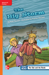 Reading Wonders, Grade 3, Leveled Reader The Big Storm, Approaching, Unit 6, 6-Pack