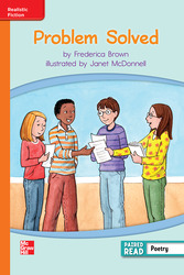 Reading Wonders, Grade 3, Leveled Reader Problem Solved, Approaching, Unit 2, 6-Pack