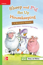 Reading Wonders, Grade 3, Leveled Reader Sheep and Pig Set Up Housekeeping, Beyond, Unit 3, 6-Pack
