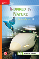 Reading Wonders, Grade 3, Leveled Reader Inspired by Nature, Beyond, Unit 3, 6-Pack
