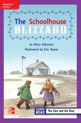 Reading Wonders, Grade 3, Leveled Reader The Schoolhouse Blizzard, ELL, Unit 6, 6-Pack
