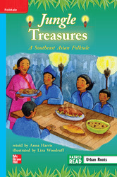 Reading Wonders, Grade 3, Leveled Reader Jungle Treasures: A Southeast Asian Folktale, On Level, Unit 2, 6-Pack