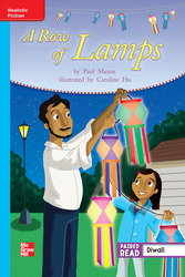Reading Wonders, Grade 3, Leveled Reader A Row of Lamps, On Level, Unit 1, 6-Pack