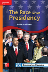 Reading Wonders, Grade 3, Leveled Reader The Race for the Presidency, On Level, Unit 2, 6-Pack