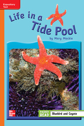 Reading Wonders, Grade 3, Leveled Reader Life in a Tide Pool, On Level, Unit 4, 6-Pack