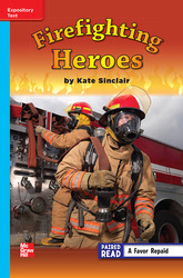 Reading Wonders, Grade 3, Leveled Reader Firefighting Heroes, On Level, Unit 5, 6-Pack
