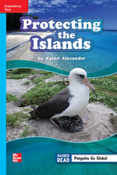 Reading Wonders, Grade 3, Leveled Reader Protecting the Islands, On Level, Unit 2, 6-Pack