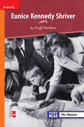 Reading Wonders, Grade 3, Leveled Reader Eunice Kennedy Shriver, On Level, Unit 5, 6-Pack