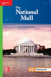 Reading Wonders, Grade 3, Leveled Reader The National Mall, On Level, Unit 1, 6-Pack