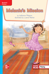 Reading Wonders, Grade 3, Leveled Reader Melanie's Mission, On Level, Unit 4, 6-Pack