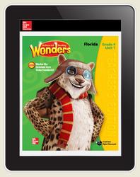 OKS Reading Wonders Florida Student Workspace 1 Year Subscription Grade 4