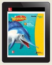 OKS Reading Wonders Florida Student Workspace 5 Year Subscription Grade 2
