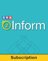 SRA 2Inform Teacher Subscription, 1-Year