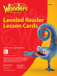 Reading Wonders Leveled Reader Lesson Cards Grade 1