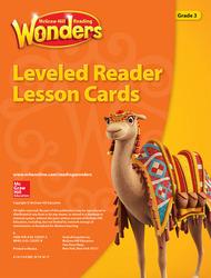 Reading Wonders Leveled Reader Lesson Cards Grade 3
