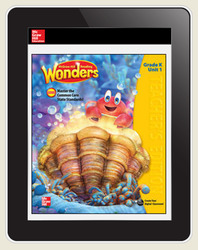 OKS Reading Wonders Student Online Workspace 1 Year Online Subscription Grade K