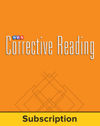 Corrective Reading Decoding Level A, Core Connection Teacher Materials Package, 6-Year Subscription