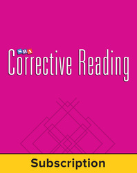 Corrective Reading Decoding Level B2, Core Connection Teacher Materials Package, 6-Year Subscription