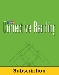 Corrective Reading Decoding Level C, Core Connection Teacher Materials Package, 6-Year Subscription