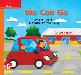 Reading Wonders, Grade K, Leveled Reader We Can Go, Approaching, Unit 3, 6-Pack