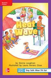 Reading Wonders, Grade 1, Leveled Reader Heat Wave, ELL, Unit 6, 6-Pack