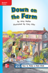 Reading Wonders, Grade 1, Leveled Reader Down on the Farm, ELL, Unit 5, 6-Pack