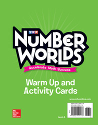 Number Worlds, Level A Activity and Warmup Cards