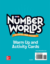 Number Worlds, Level C Activity and Warmup Cards