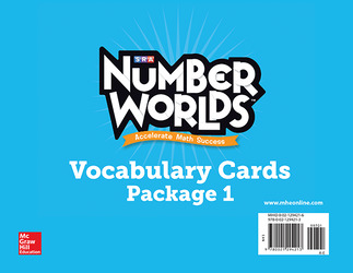 Number Worlds Levels A-E, Vocabulary Cards