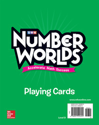 Number Worlds Level D Playing Cards