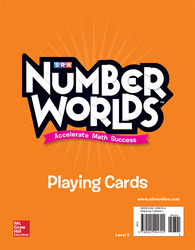 Number Worlds Level E Playing Cards