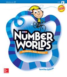Number Worlds, Level F Teacher Edition
