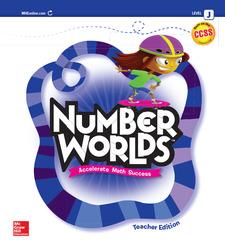 Number Worlds, Level J Teacher Edition
